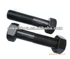 American type hex bolt with black plated