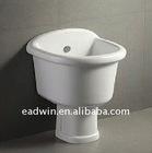 Ceramic pedestal mop tub E711