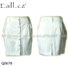 Hot! Garment stock lot ladies elegant skirt