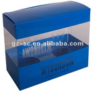 Plastic PVC Packaging Box SCPB08