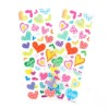 Heart shape adhesive foam sticker