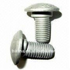 Egg Neck Guardrail Bolts with Mushroom or Hexagonal Spherical Head
