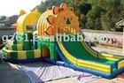 slide inflatable castle