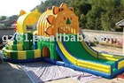 slide inflatable castle