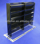 clear acrylic card holder or acrylic card display tower