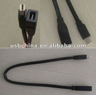 Mini DP M to MINIDP F Short Cable