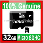 100% GENUINE NEW 32GB MICROSD CLASS 10 MICRO SD HC MICROSDHC TF FLASH MEMORY CARD REAL 32 GB WITH SD ADAPTER