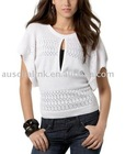 Sell 8KN068 Dolman-Sleeve Sweater with Keyhole