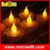 LED Flashing Candle Yellow ligthing