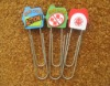 New Arrive Promotion gift Soft pvc Paper clip