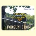 customs ornamental iron fence