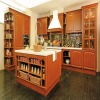 Solid wooden kitchen cabinet