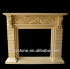 High Quality Hand Carved Marble Fireplace Surround