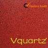 Pure Red color--Quartz stone
