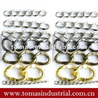 Fashion decorative various sizes industrial metal chain
