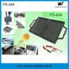 4w briefcase solar charger car battery 12v