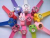 cheap silicone strap watch/newest children watch