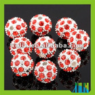 Fashion European Murano Beads Rhinestone European Beads