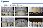 dental zirconia all ceramic bridge natural and esthetical