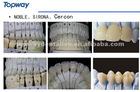dental zirconia all ceramic bridge natural and esthetical