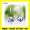 Ceramic Jewelry,Porcelain Balls Pendant Earring