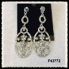 alloy diamond fashion earrings F43772