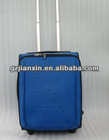 "Business Draw-bar box 20"" universal wheel luggage mute wheel suitcase brand dark blue luggage"