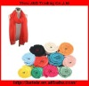 2012 New Design Elastic wrinkle Polyester Scarf