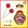 25g Halal Bubble Gum Fruit Flavored Lollipops