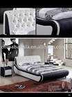 modern leather bed 920