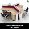 Three Seats Modern Modular Office Partition HLF-WS009