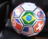 inflatable ball with flag