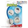 promotional gift puzzle maza ball keyring