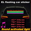 Lively el musical car sticker 2012