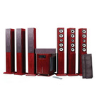 5.1 acoustics with wireless usb/sd/FM/remote control