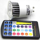 good quality 5w gu10 led rgb with 16 colors