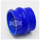 "DEDC 76mm 3"" to 3"" Hump Silicone Straight Coupler Hose Turbo Intercooler Blue"