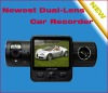 2011 NEWEST DUAL-LENS AUTO VIDEO RECORDER WITH 2.5 INCH LCD SCREEN