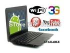Free shipping 7inch mini laptop android2.2,netbook wm8650 Mini Notebook,Mini E-Book