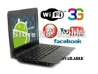Free shipping 7inch mini laptop android2.2,netbook wm8650 Mini Notebook,Mini E-Book