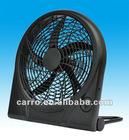 """new design 10"""" rechargeable fan,emergency fan CE-12V10Q"""
