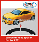 auto carbon front lip spoiler for Audi TT