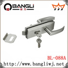 Hot selling zinc alloy glass door lock (BL088A )