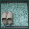 Water absorption and non-slip Bathroom Chenille Blanket