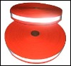 industrial red polyester reflective tape