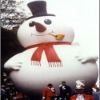 outdoor giant inflatable snowman for christmas decoration