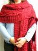 poncho,knitted poncho,poncho towel