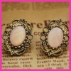 2012 Newest rhinestone stud earrings,Retro stud earrings