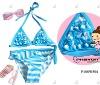 2013 blue young bikini girls