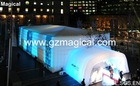 Inflatable trade show structure tent